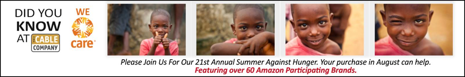 Summer Against Hunger 2016