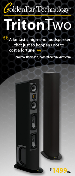 250x580 GoldenEar Triton Two