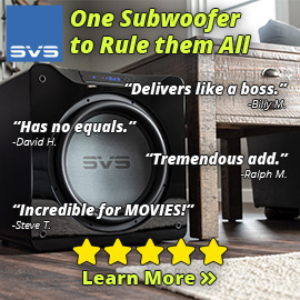 SVS One Subwoofer