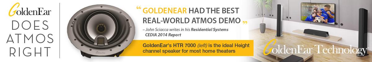 GoldenEar Technology Atmos
