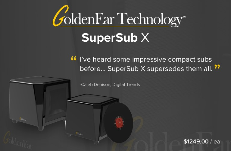 GoldenEar SuperSub