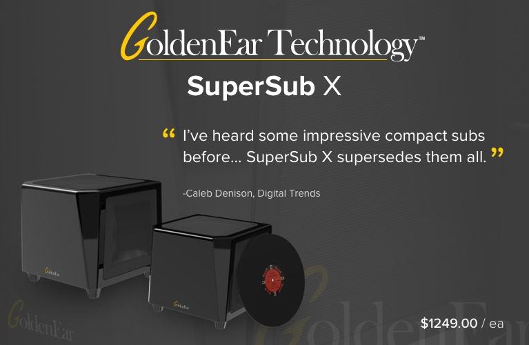 GoldenEar SuperSub