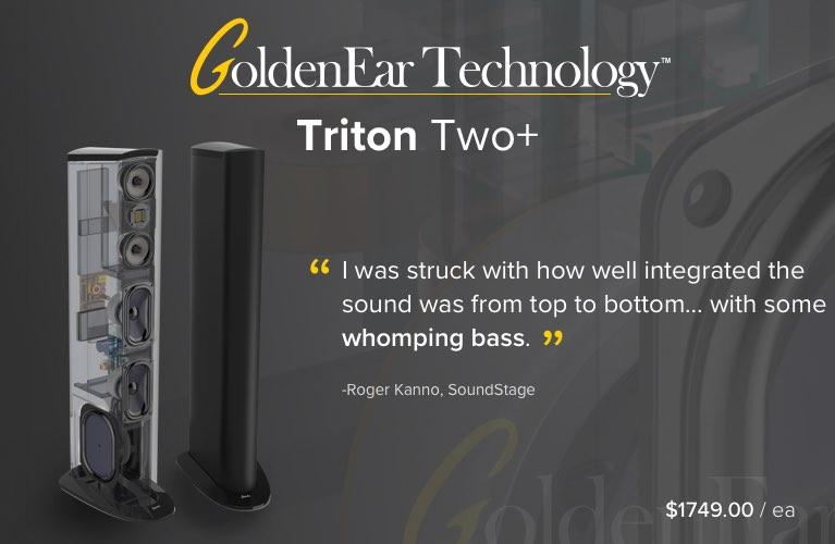 GoldenEar Triton Two+