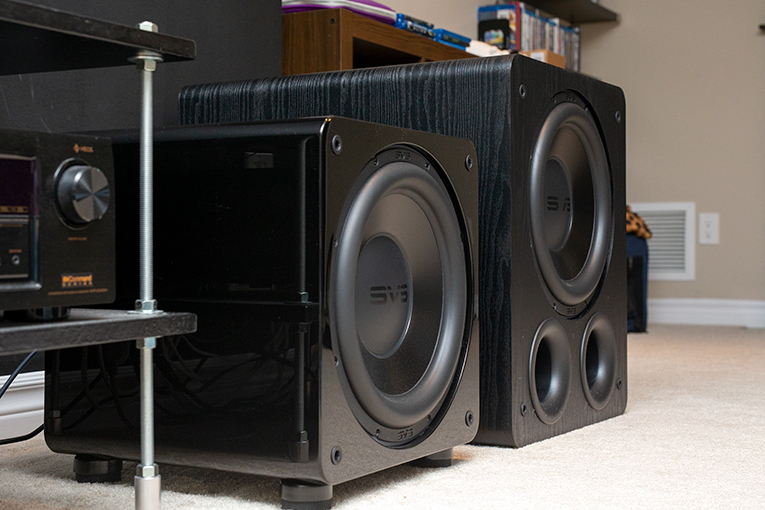 Both subwoofers